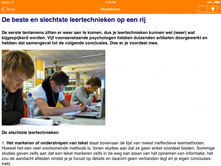 Studenten.net - ipad2