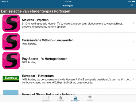 Studenten.net - ipad2