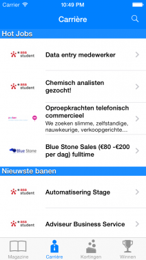 Studenten.net - iphone
