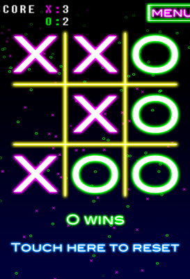 NeonTic Tac Toe - android_tablet4