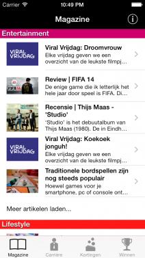 Studenten.net - iphone
