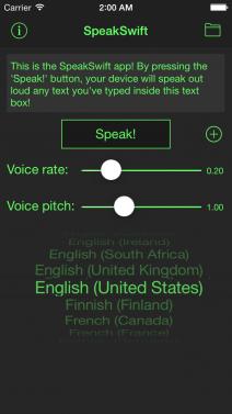 SpeakSwift - iphone